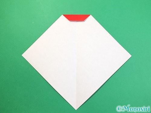 折り紙で達磨の折り方手順6