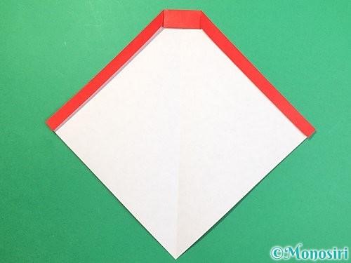 折り紙で達磨の折り方手順8