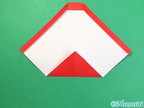 折り紙で達磨の折り方手順10