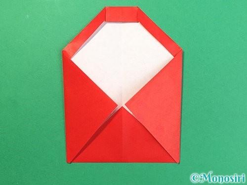 折り紙で達磨の折り方手順12