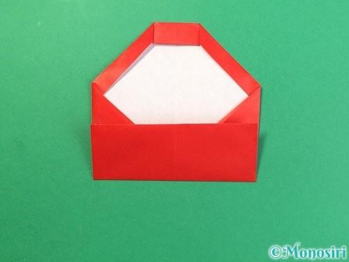 折り紙で達磨の折り方手順14