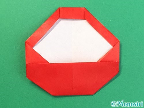 折り紙で達磨の折り方手順16