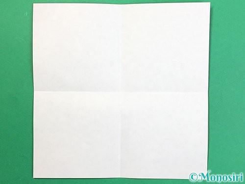 折り紙で鬼の体の折り方手順2