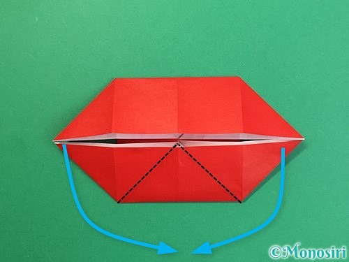 折り紙で鬼の体の折り方手順13