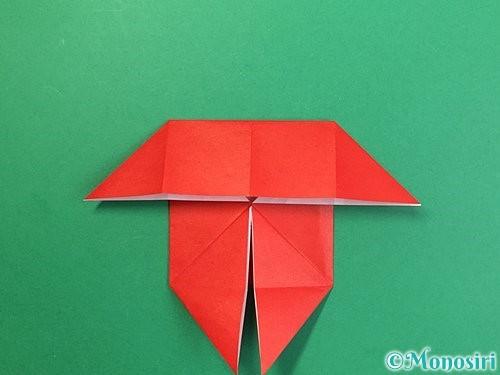 折り紙で鬼の体の折り方手順14