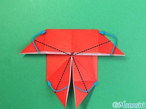 折り紙で鬼の体の折り方手順15