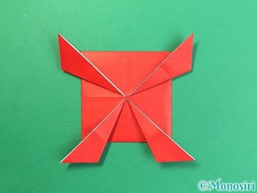 折り紙で鬼の体の折り方手順16