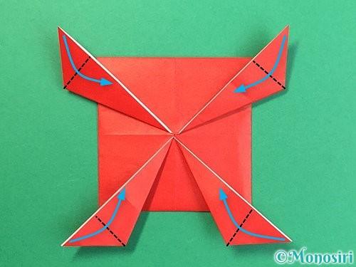 折り紙で鬼の体の折り方手順17