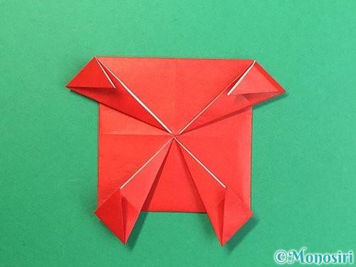 折り紙で鬼の体の折り方手順18