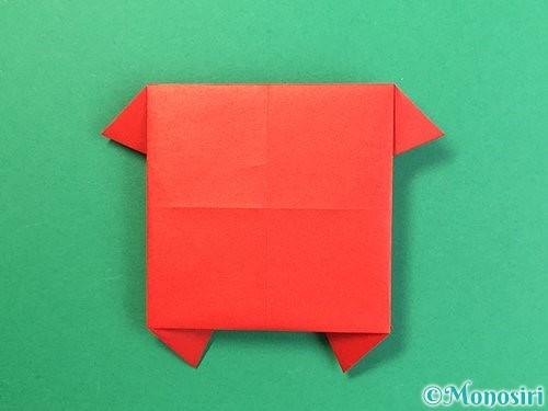 折り紙で鬼の体の折り方手順19