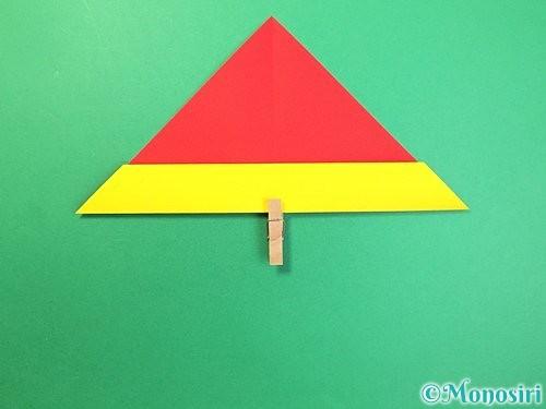 折り紙で可愛い鬼の折り方手順8