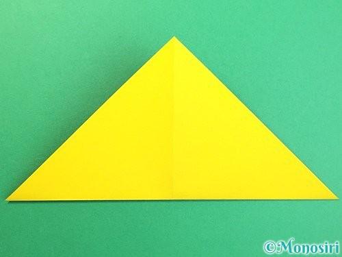 折り紙で可愛い鬼の折り方手順9