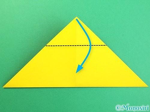 折り紙で可愛い鬼の折り方手順10