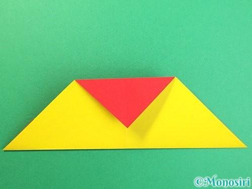 折り紙で可愛い鬼の折り方手順11