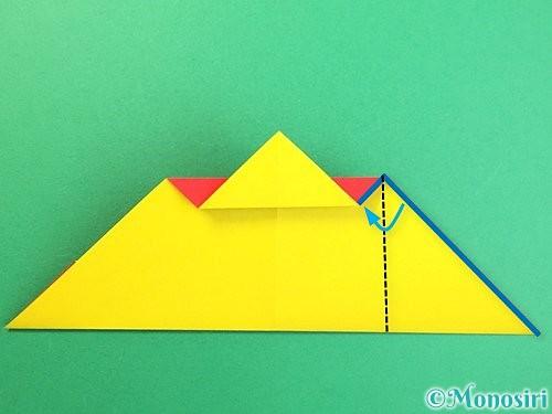 折り紙で可愛い鬼の折り方手順14