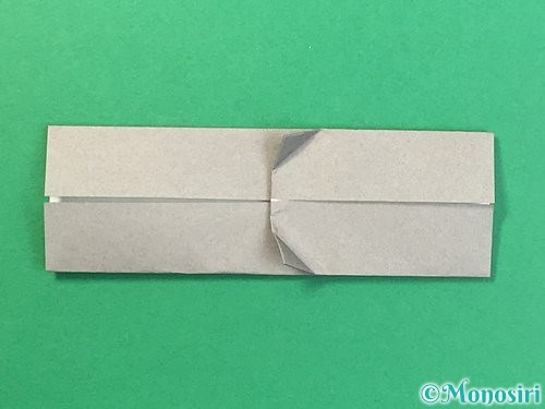 折り紙で金棒の折り方手順13