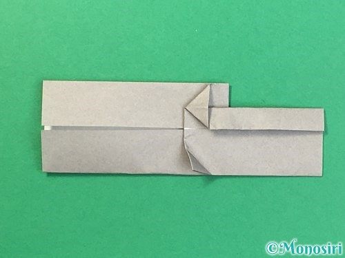 折り紙で金棒の折り方手順16