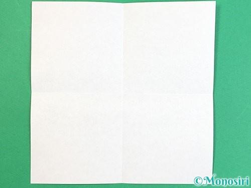 折り紙で枡の折り方手順2