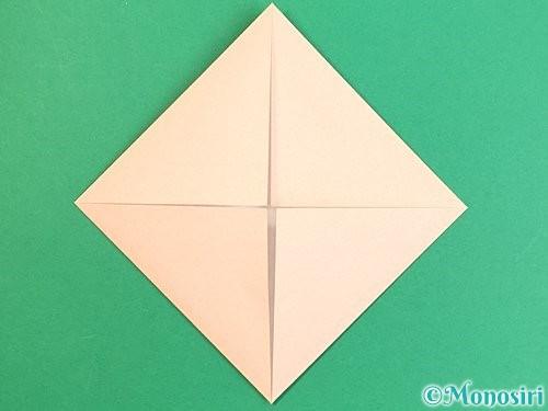 折り紙で枡の折り方手順4