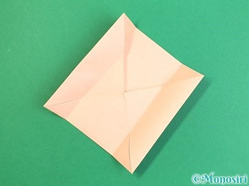 折り紙で枡の折り方手順6