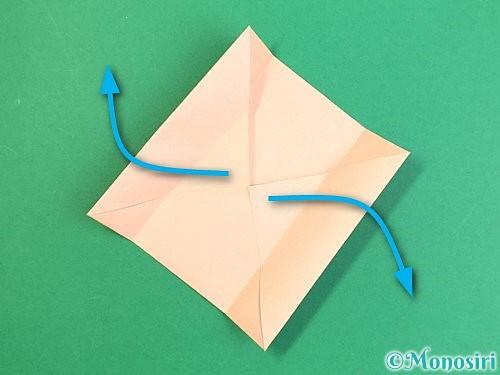 折り紙で枡の折り方手順7