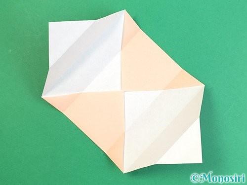 折り紙で枡の折り方手順8