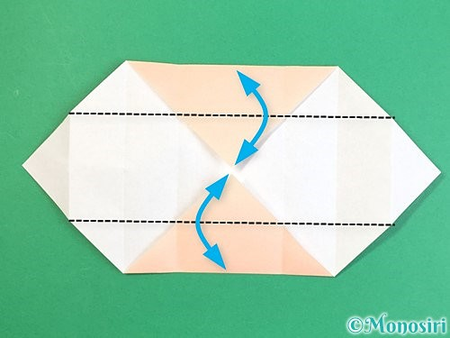 折り紙で枡の折り方手順10