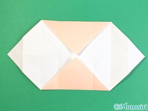 折り紙で枡の折り方手順9