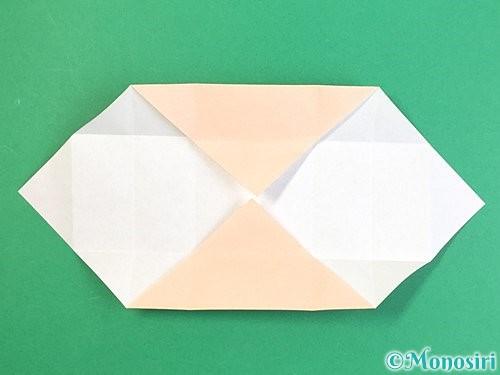 折り紙で枡の折り方手順11