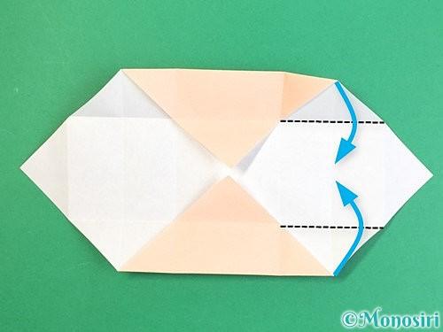 折り紙で枡の折り方手順12