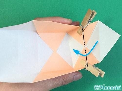 折り紙で枡の折り方手順16