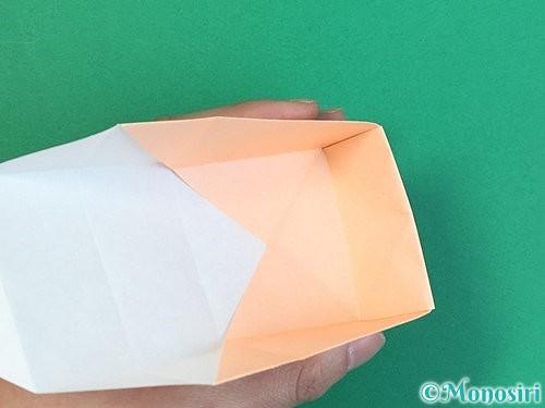 折り紙で枡の折り方手順17