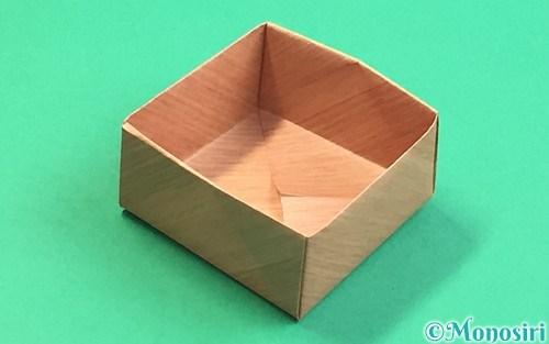 折り紙で折った枡