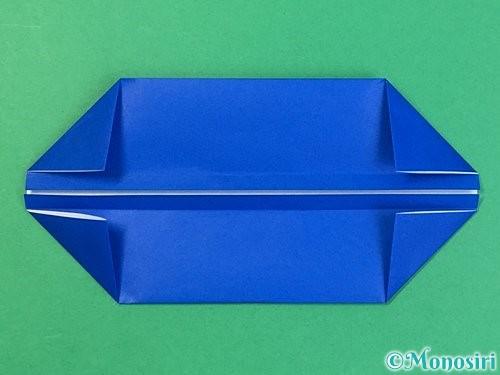 折り紙で箱の折り方手順8