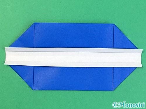 折り紙で箱の折り方手順10