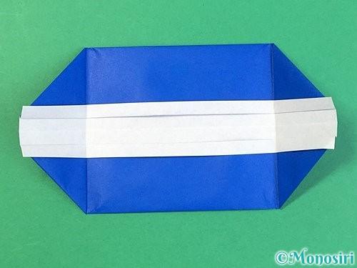 折り紙で箱の折り方手順12