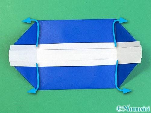 折り紙で箱の折り方手順13