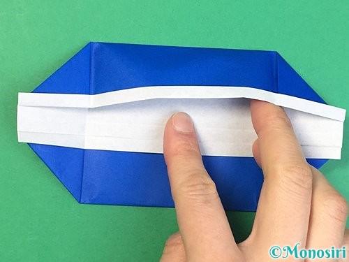 折り紙で箱の折り方手順14