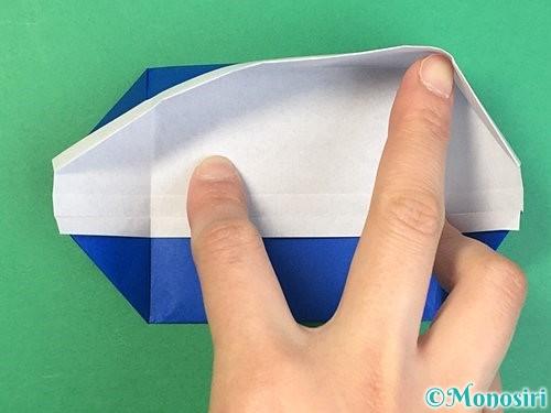折り紙で箱の折り方手順15