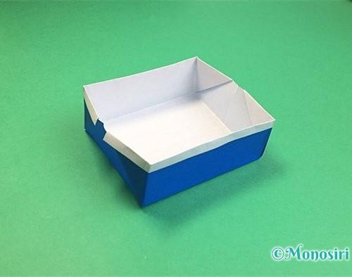 折り紙で箱の折り方手順18