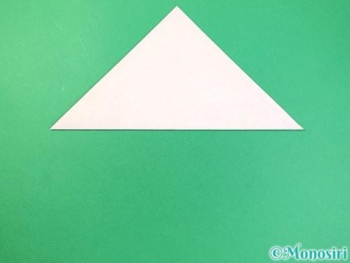 折り紙で菓子鉢の折り方手順2