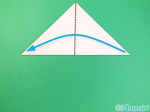 折り紙で菓子鉢の折り方手順3