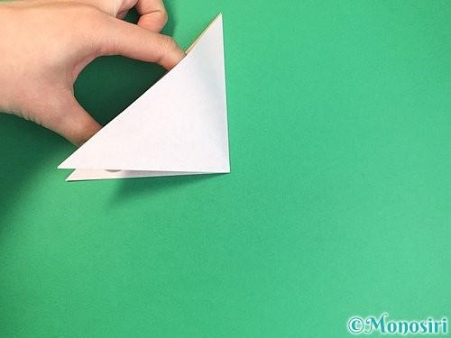 折り紙で菓子鉢の折り方手順5