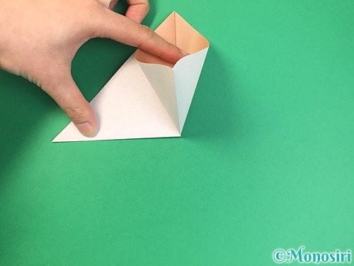 折り紙で菓子鉢の折り方手順6