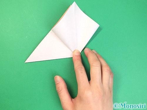 折り紙で菓子鉢の折り方手順7