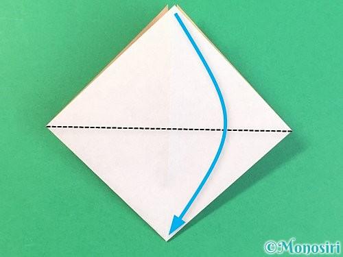 折り紙で菓子鉢の折り方手順10