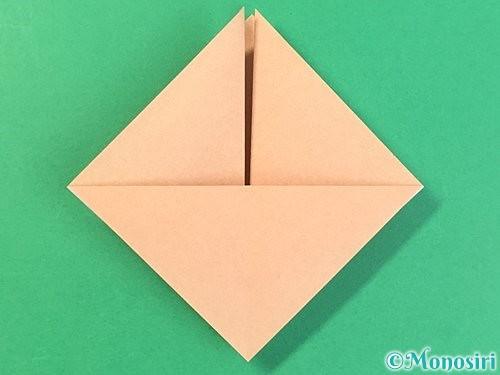折り紙で菓子鉢の折り方手順11