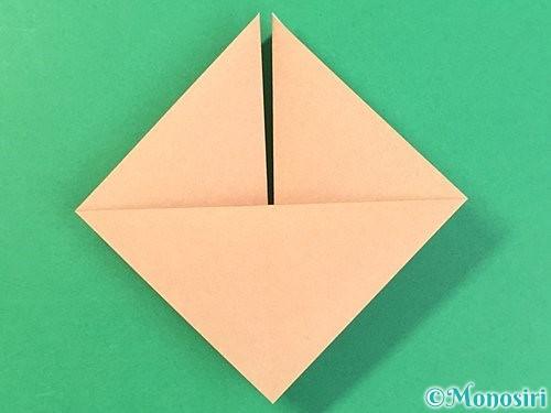 折り紙で菓子鉢の折り方手順12