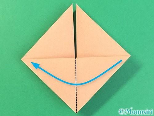 折り紙で菓子鉢の折り方手順13