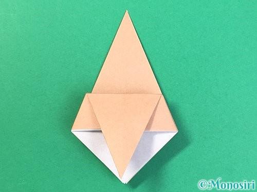 折り紙で菓子鉢の折り方手順19